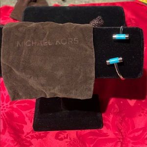New without tags Michael Kors turquoise bracelet